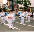 市民盆踊りに市議会議員として参加