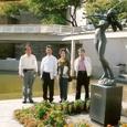 福岡市 視察 彫刻の町並み