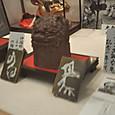 宇倍神社で展示されている伊福部玲子氏の陶器